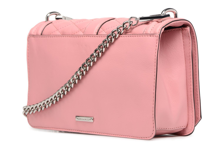 Handtaschen Rebecca Minkoff Love Crossbody rosa ansicht von rechts