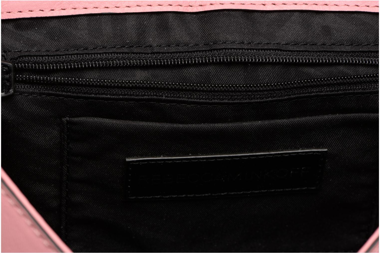 Handtaschen Rebecca Minkoff Love Crossbody rosa ansicht von hinten