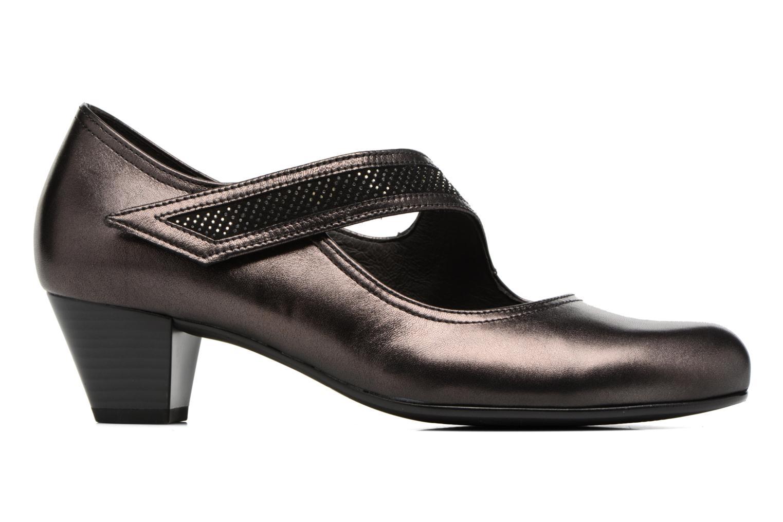 Zapatos de tacón Gabor Chiara Gris vistra trasera