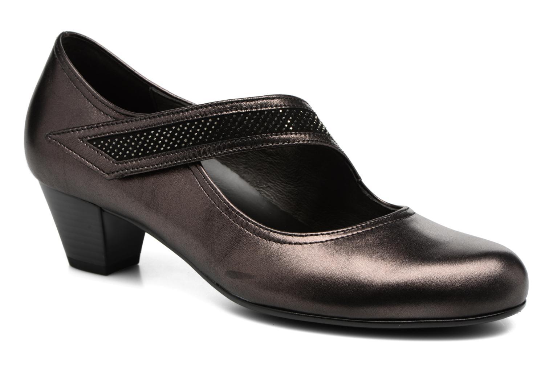 Zapatos de tacón Gabor Chiara Gris vista de detalle / par