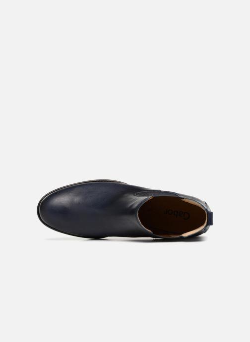 Bottines et boots Gabor Paloma Noir vue gauche