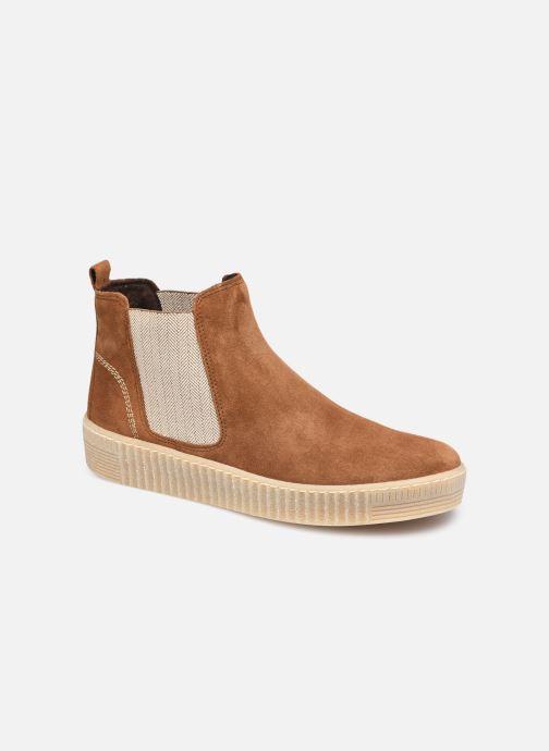Bottines et boots Gabor Maya Marron vue détail/paire