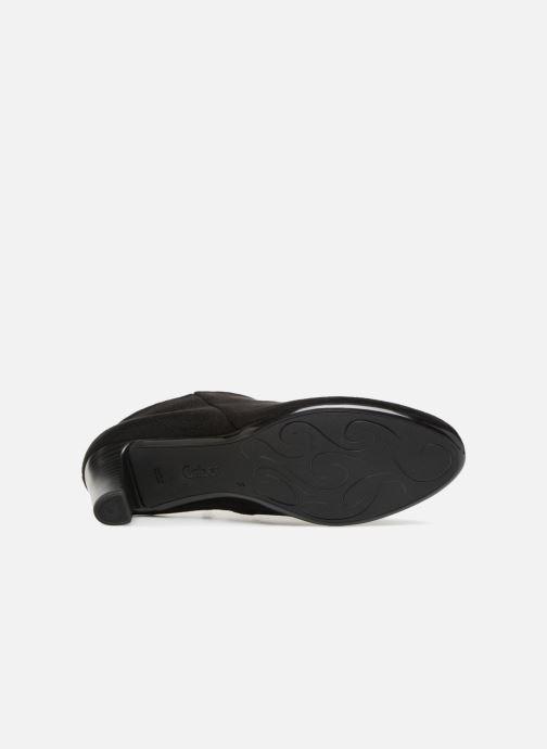Bottines et boots Gabor Mia Noir vue haut