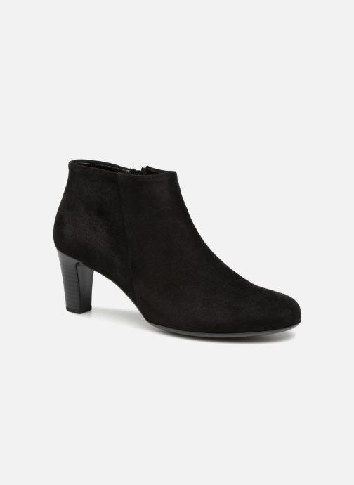Boots en enkellaarsjes Gabor Mia Zwart detail