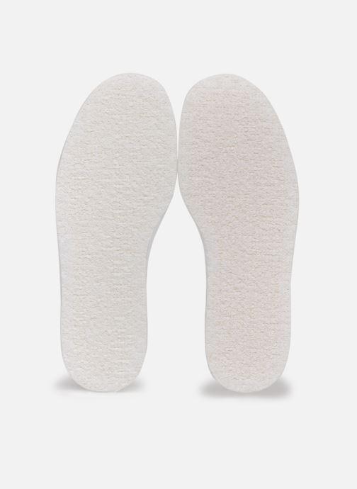 Semelles Famaco Semelle coton enfant Blanc vue détail/paire