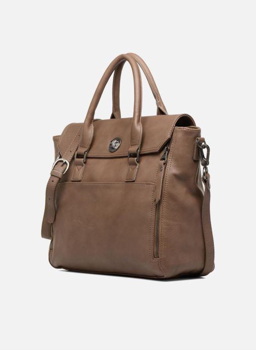 Handbags Sabrina Charlotte Brown model view