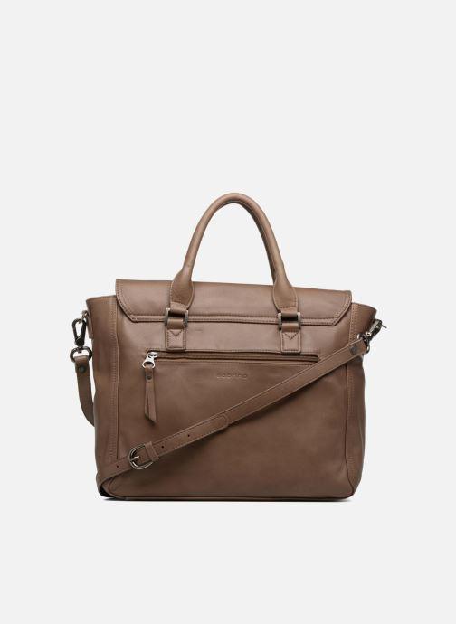 Handbags Sabrina Charlotte Brown front view