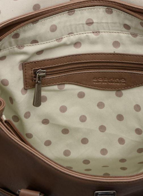 Handbags Sabrina Charlotte Brown back view