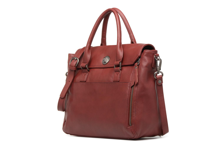 Handtassen Sabrina Charlotte Bordeaux model
