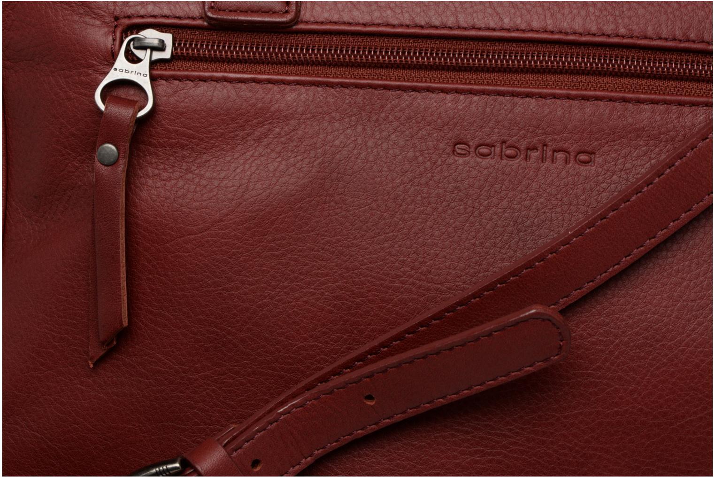 Handtassen Sabrina Charlotte Bordeaux links