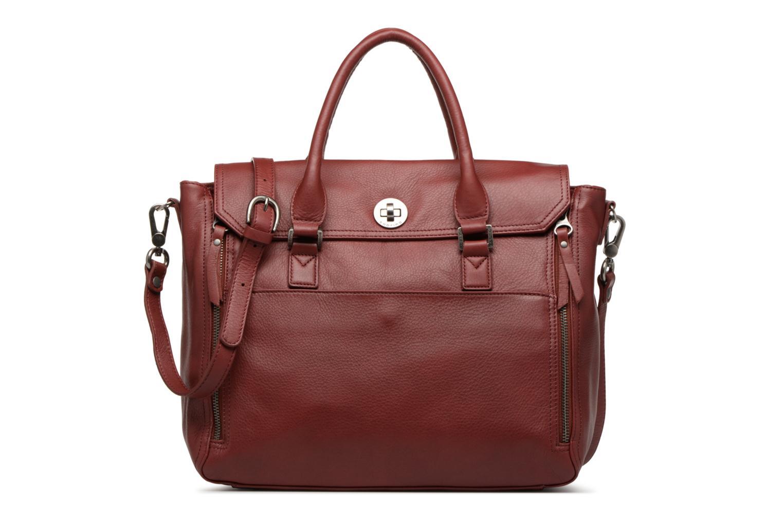 Handtassen Sabrina Charlotte Bordeaux detail