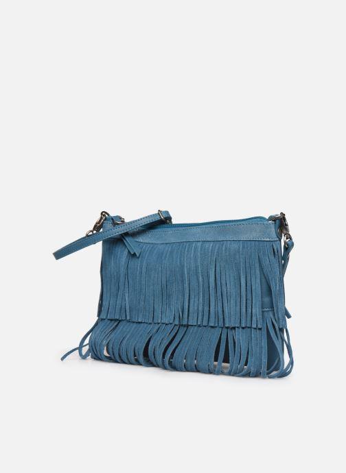Bolsos de mano Sabrina Vanessa Azul vista del modelo