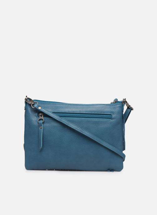 Handbags Sabrina Vanessa Blue front view