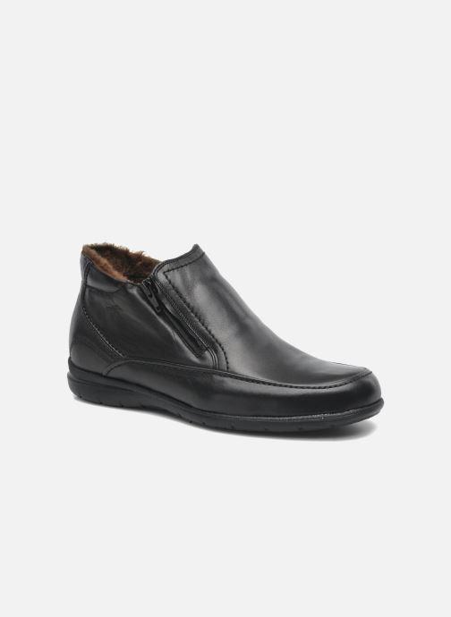 Ankelstøvler Fluchos Luca 87830 Sort detaljeret billede af skoene