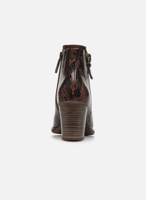 Bottines et boots Tamaris Troxli Marron vue droite
