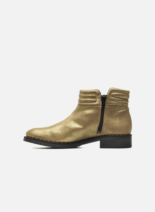 Ankle boots Schmoove Woman Faith Perfecto Bronze and Gold front view
