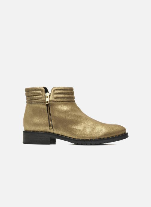 Ankle boots Schmoove Woman Faith Perfecto Bronze and Gold back view
