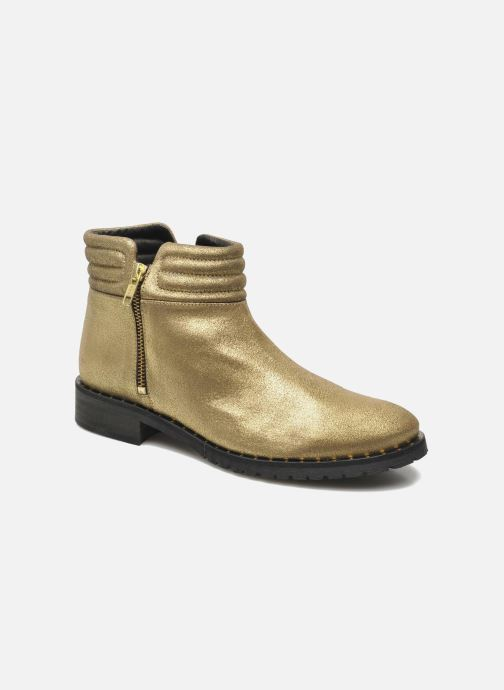 Ankelstøvler Schmoove Woman Faith Perfecto Guld og bronze detaljeret billede af skoene