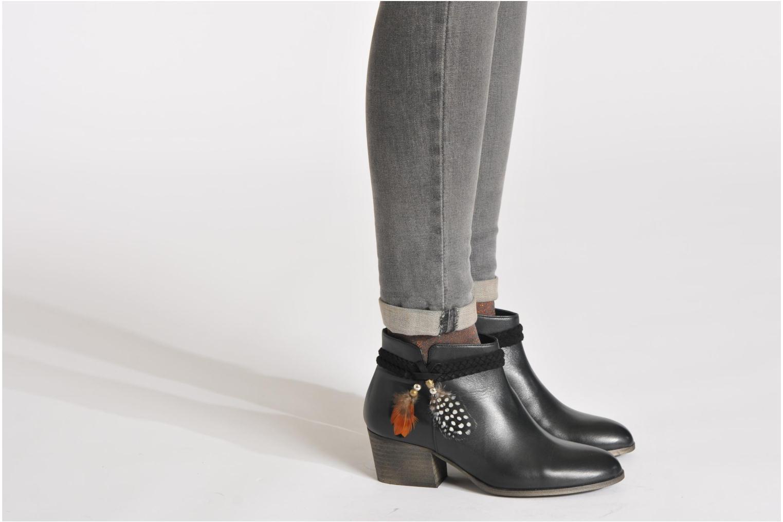 Bottines et boots Schmoove Woman Secret Boots Noir vue bas / vue portée sac