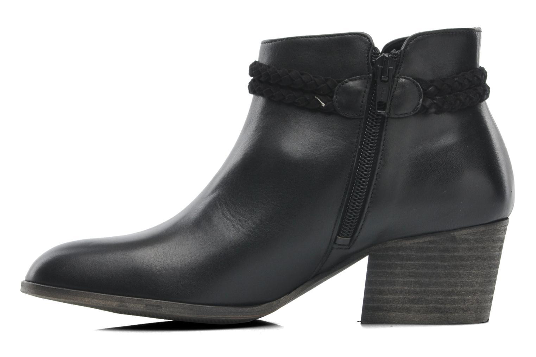 Bottines et boots Schmoove Woman Secret Boots Noir vue face
