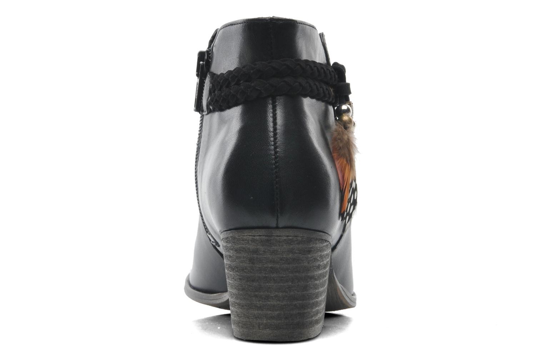 Bottines et boots Schmoove Woman Secret Boots Noir vue droite