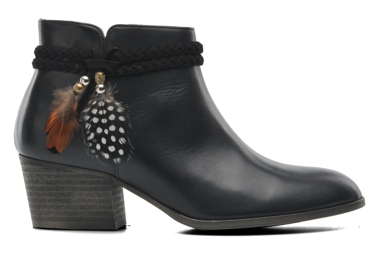 Bottines et boots Schmoove Woman Secret Boots Noir vue derrière