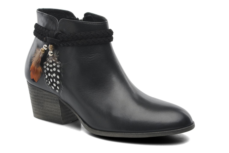 Bottines et boots Schmoove Woman Secret Boots Noir vue détail/paire