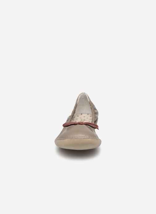 Ballerines TBS Macash Beige vue portées chaussures