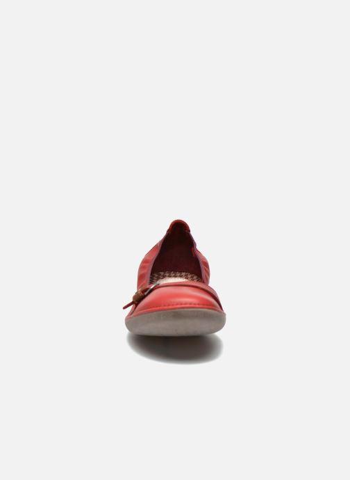 Ballerines TBS Maline Rouge vue portées chaussures