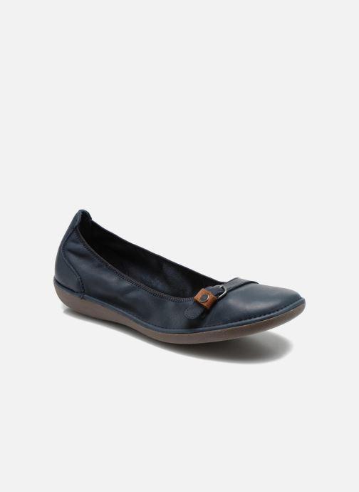 Ballerinaer TBS Maline Blå detaljeret billede af skoene