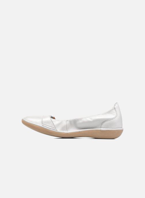 Ballerinaer TBS Maline Hvid se forfra