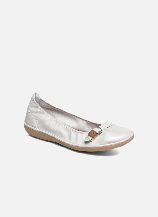 Ballerinaer TBS Maline Hvid detaljeret billede af skoene
