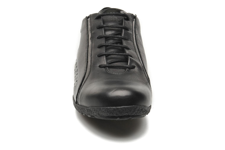 Chaussures à lacets TBS Kahina Noir vue portées chaussures