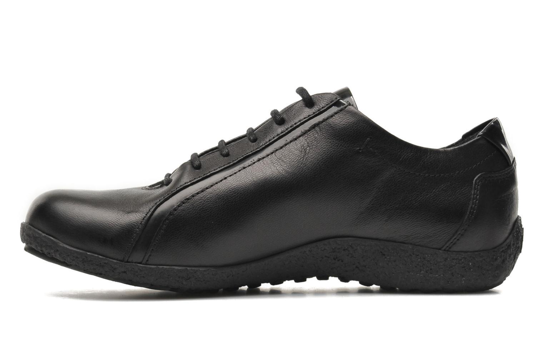 Chaussures à lacets TBS Kahina Noir vue face