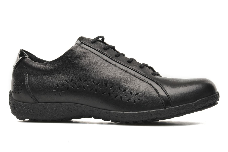 Chaussures à lacets TBS Kahina Noir vue derrière