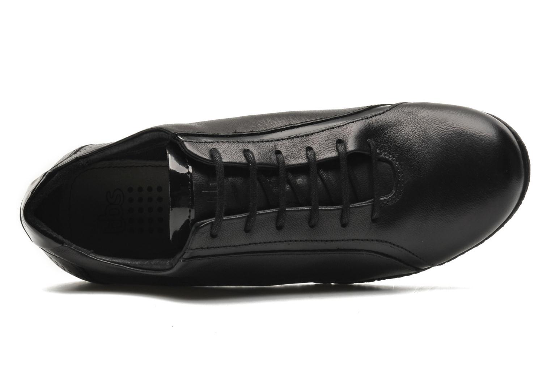 Chaussures à lacets TBS Kahina Noir vue gauche