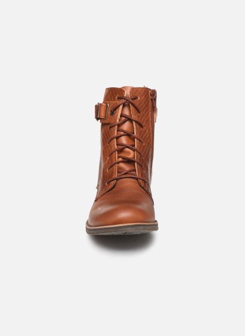 Ankle boots TBS Mazzly Brown model view
