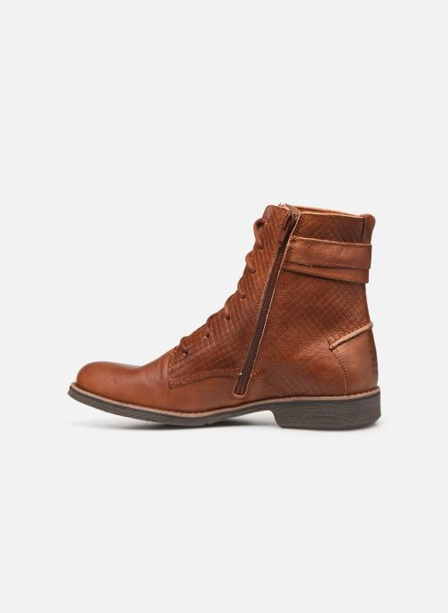 Ankle boots TBS Mazzly Brown front view