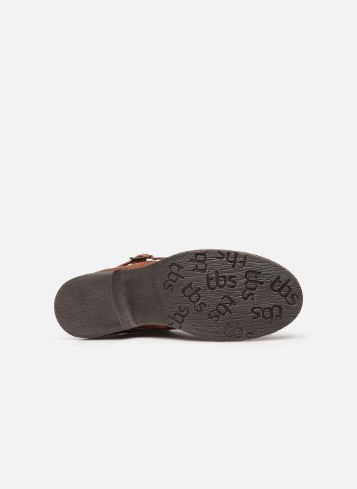 Stiefeletten & Boots TBS Mazzly braun ansicht von oben