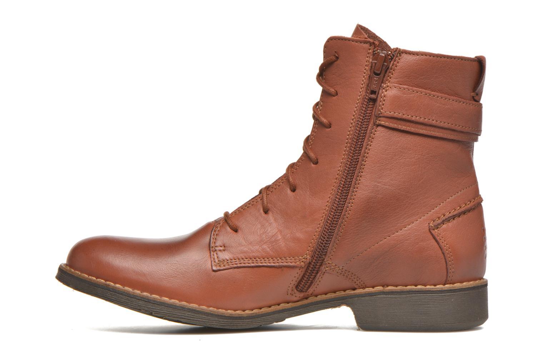 Bottines et boots TBS Mazzly Marron vue face