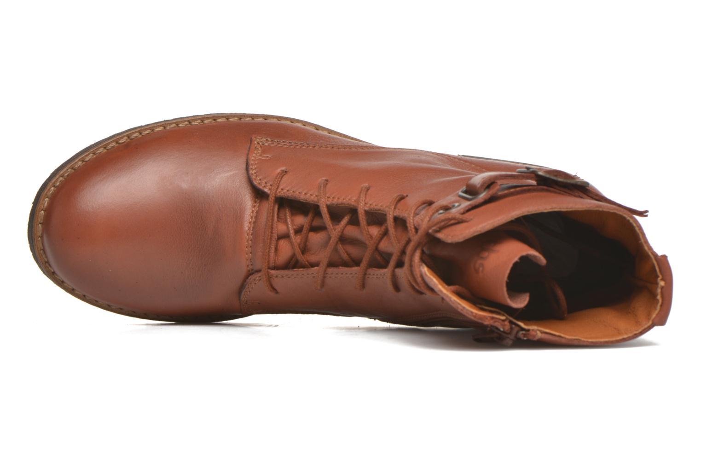 Bottines et boots TBS Mazzly Marron vue gauche