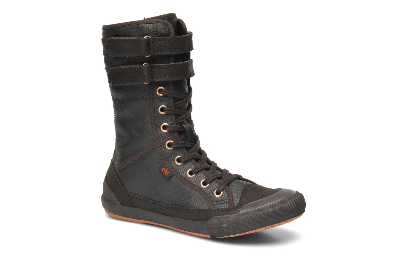 Bottines et boots TBS Odreyh Marron vue détail/paire