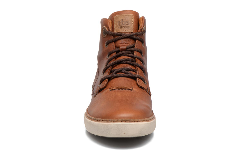 Baskets TBS Bexter Marron vue portées chaussures
