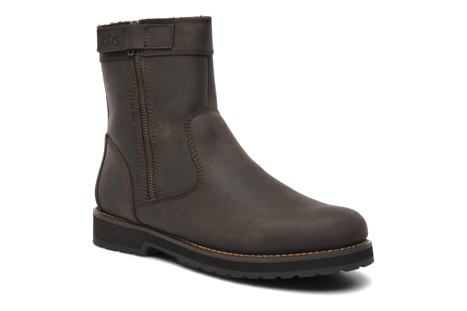 Boots & wellies TBS Quamer Brown detailed view/ Pair view