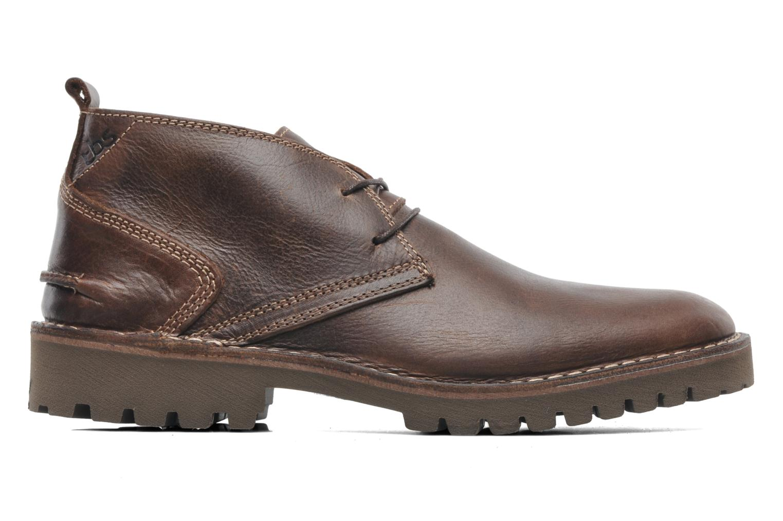 Lace-up shoes TBS Maxime Brown back view