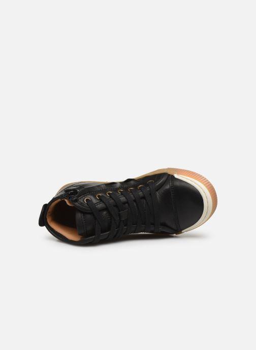Baskets Bisgaard Geo Noir vue gauche