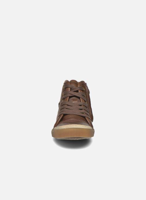 Sneaker Bisgaard Geo braun schuhe getragen