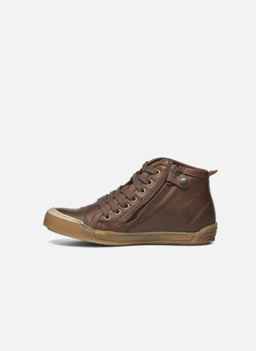 Sneaker Bisgaard Geo braun ansicht von vorne