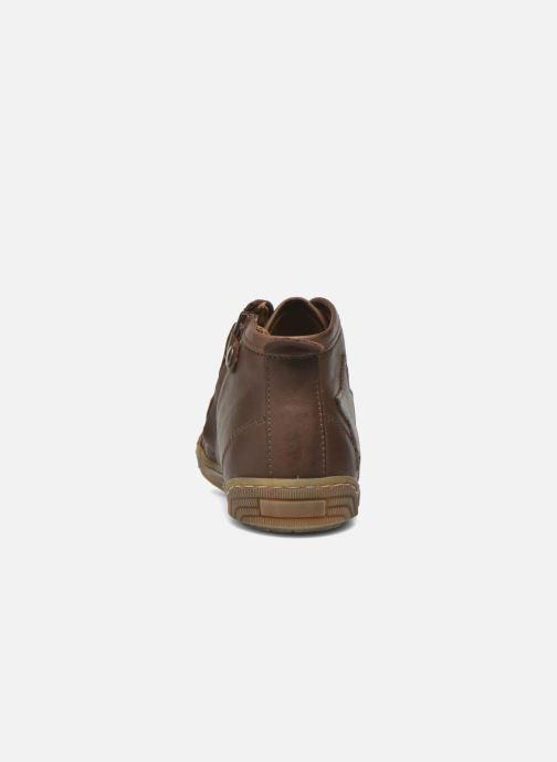 Sneaker Bisgaard Geo braun ansicht von rechts