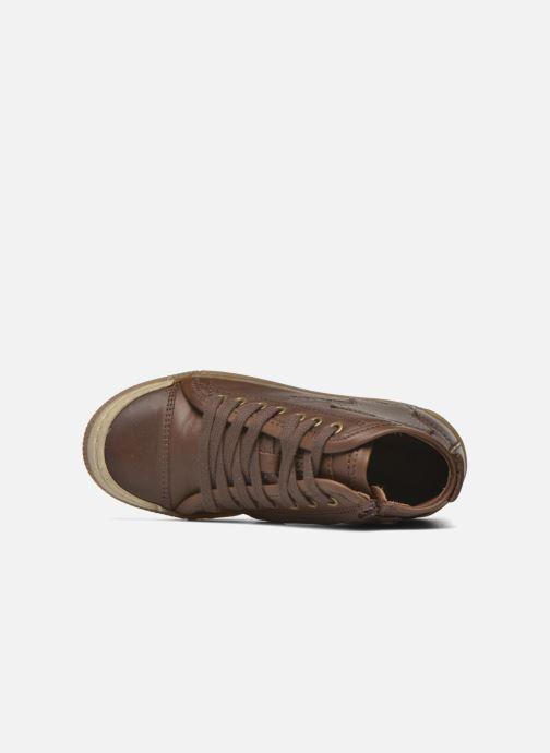 Sneaker Bisgaard Geo braun ansicht von links